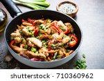 Chicken Stir Fry With  ...