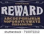 font.alphabet.script.typeface... | Shutterstock .eps vector #710372212