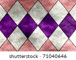 Pink  White And Purple Texture...