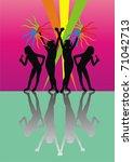 modern disco | Shutterstock .eps vector #71042713