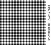 seamless checkered vector... | Shutterstock .eps vector #710427685
