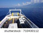 ferry boat | Shutterstock . vector #710430112