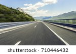 highway outside the city... | Shutterstock . vector #710446432