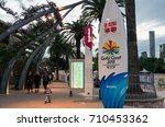 brisbane  australia   july 9 ... | Shutterstock . vector #710453362