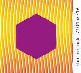 figure hexagonal decorative... | Shutterstock .eps vector #710453716