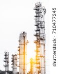 close up industrial zone. plant ... | Shutterstock . vector #710477245