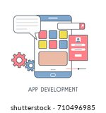 app development icon. vector