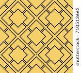 art deco seamless pattern... | Shutterstock .eps vector #710513662