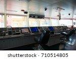 Control Panel Ship's Radar Map...