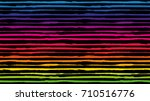 seamless horizontal striped... | Shutterstock .eps vector #710516776