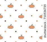 Seamless Pattern Of Cute...