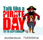 international talk like a...   Shutterstock .eps vector #710543416