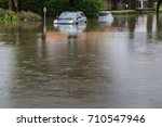 Cars Submerged In Texas During...