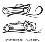 cars | Shutterstock .eps vector #71055892