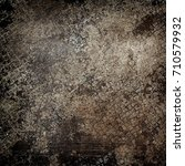 rusty diamond plate background | Shutterstock . vector #710579932