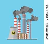industry landscape increasing... | Shutterstock .eps vector #710584756