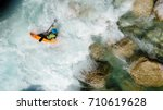 An Extreme Whitewater Kayaker...