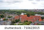 cityscape  top view from the... | Shutterstock . vector #710623015