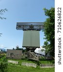 Small photo of Airspace monitoring by mid-range radar control. Europe