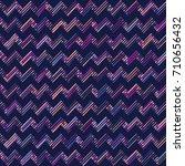 vector color pattern. geometric ... | Shutterstock .eps vector #710656432