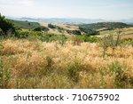 countryside landscape | Shutterstock . vector #710675902