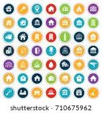 house icons | Shutterstock .eps vector #710675962