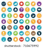 nature icons | Shutterstock .eps vector #710675992