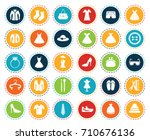 fashion icons | Shutterstock .eps vector #710676136