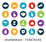 hand icons | Shutterstock .eps vector #710676142