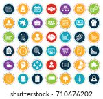 management icons | Shutterstock .eps vector #710676202