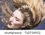 beauty ideas and concepts.... | Shutterstock . vector #710724922