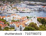 image of the seaside resort of... | Shutterstock . vector #710758372