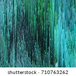 colorful glitched background.... | Shutterstock .eps vector #710763262