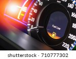 close up empty petrol  gasoline ... | Shutterstock . vector #710777302