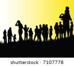 people | Shutterstock .eps vector #7107778