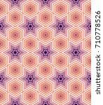 geometric seamless pattern | Shutterstock .eps vector #710778526