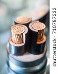 cross section of high voltage... | Shutterstock . vector #710787232