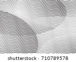 abstract background with lines... | Shutterstock .eps vector #710789578
