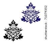 vintage ornament vector...   Shutterstock .eps vector #71079352