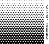 triangle halftone background | Shutterstock .eps vector #710797192