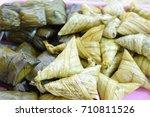 porridge tie | Shutterstock . vector #710811526
