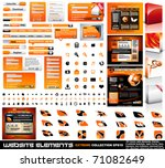 web design elements extreme... | Shutterstock .eps vector #71082649