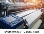 textile industry  | Shutterstock . vector #710834506