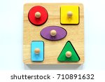 A Child's Wooden Shape Sorter...