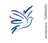 Dove Vector Logo Template....