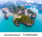 Cat Ba Island From Above. Lan...