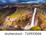 picturesque landscape of a... | Shutterstock . vector #710953006