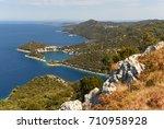 lastovo island  croatia.    Shutterstock . vector #710958928