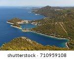 lastovo island  croatia....   Shutterstock . vector #710959108