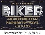 script handcrafted vector... | Shutterstock .eps vector #710970712